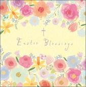 Pack of 5 Pretty Easter Blessings Greeting Cards
