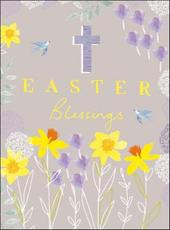 Pack of 5 Easter Blessings Greetings Cards