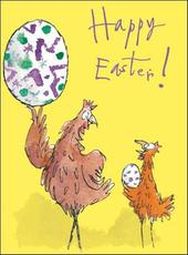 Pack of 5 Quentin Blake Happy Easter Greetings Cards