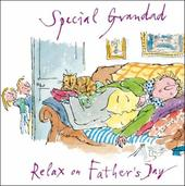 Quentin Blake Special Grandad Happy Father's Day Greeting Card