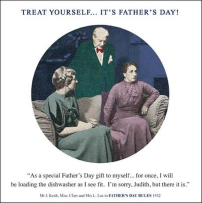 Funny Loading Dishwasher Father's Day Greeting Card