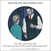 Funny Remote Control Happy Father's Day Greeting Card