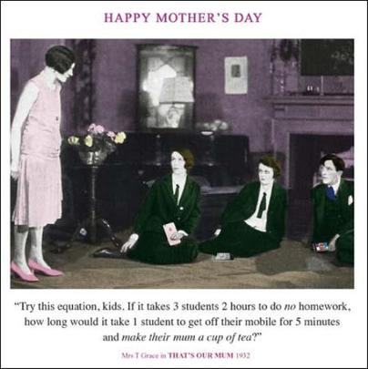 Funny Make Mum Tea Mother's Day Greeting Card