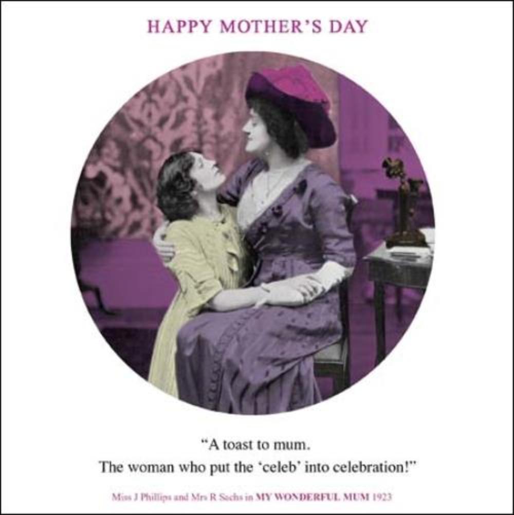 Funny A Toast To Mum Mother's Day Greeting Card