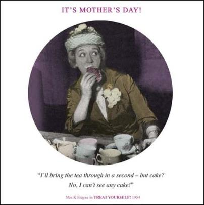 Funny Mum What Cake? Mother's Day Greeting Card