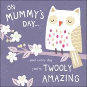 Cute On Mummy's Day Happy Mother's Day Greeting Card