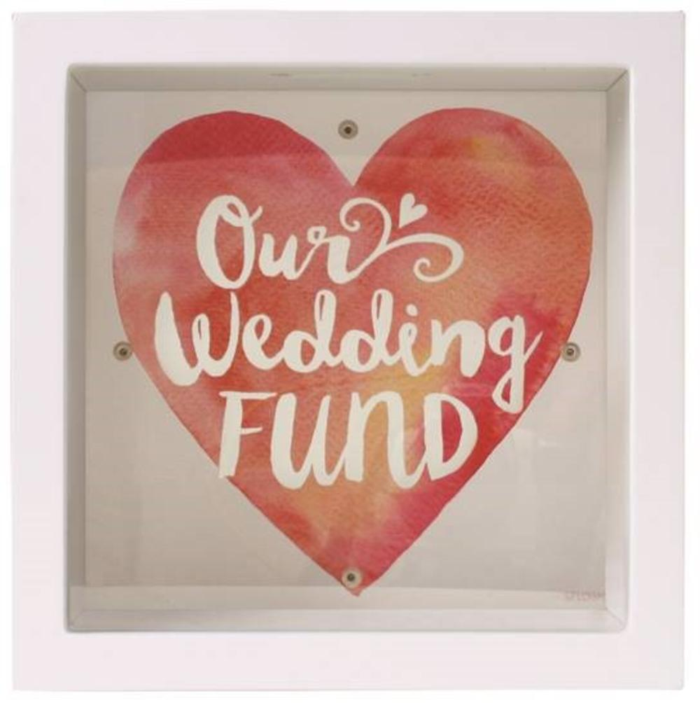 Splosh Our Wedding Fund Change Box Gift