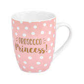 Prosecco Time Prosecco Princess Pink Spotty Mug