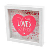Message Of Love You Are Loved Light Up Box Frame