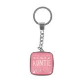 Message Of Love Best Auntie Keyring