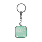 Message Of Love One In A Million Keyring