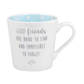 Good Friends Sentiments From The Heart Mug In Gift Box
