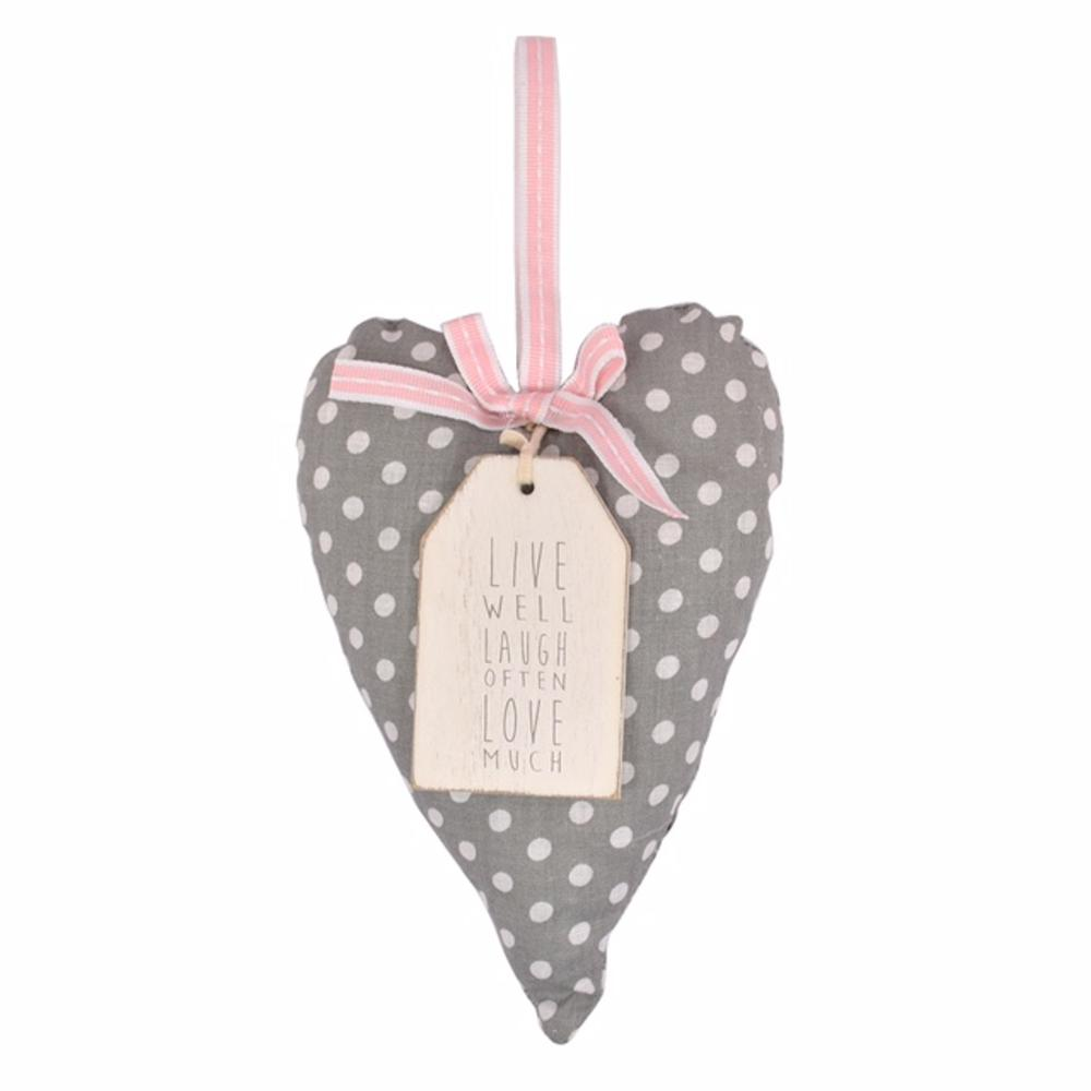 Live Laugh Love Sentiments From The Heart Hanging Cushion