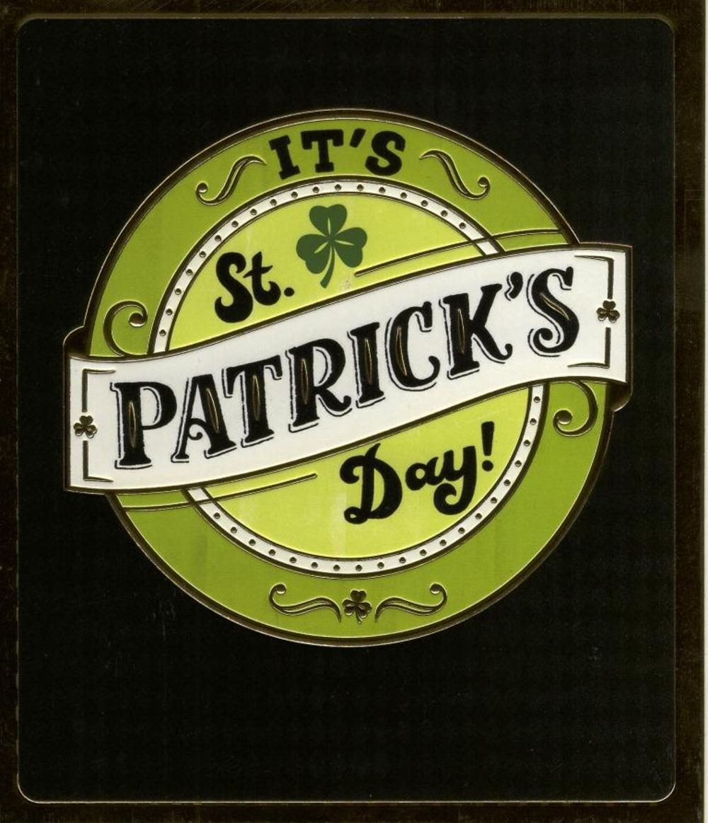 It's St Patrick's Day Good Luck Greeting Card