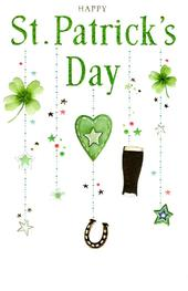Happy St Patrick's Day Greeting Card
