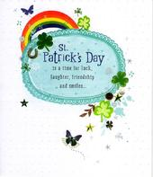St Patrick's Day Irish Charm Greeting Card