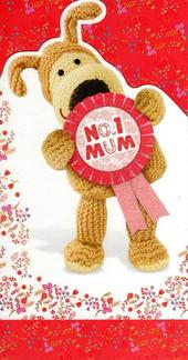 Boofle No. 1 Mum Happy Mother's Day Card