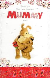Boofle Best Mummy Happy Mother's Day Card