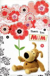 Boofle Thank You Mum Happy Mother's Day Card