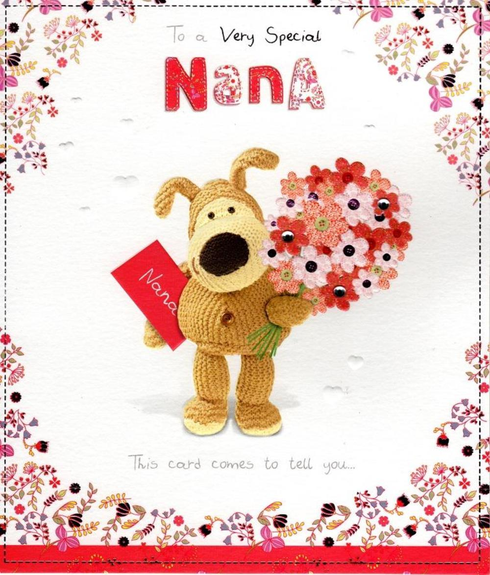 Boofle Special Nana Happy Mother's Day Card