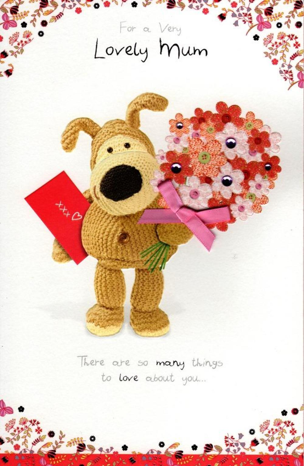 Boofle Very Lovely Mum Happy Mother's Day Card