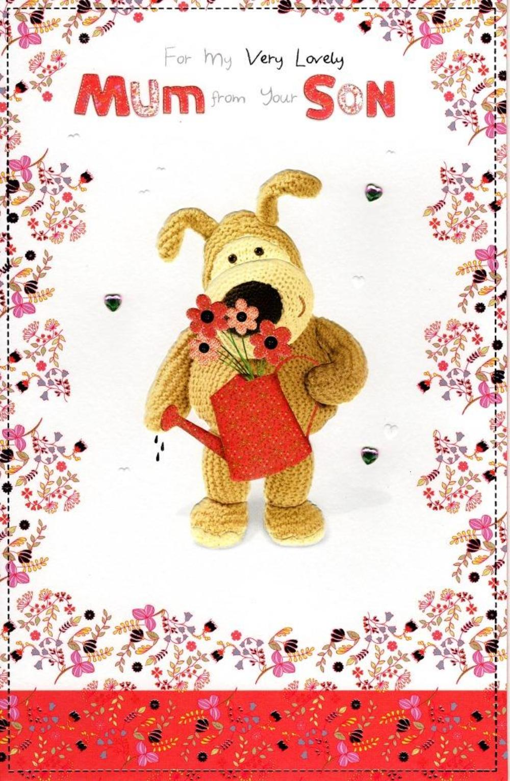 Boofle Mum From Son Happy Mother's Day Card