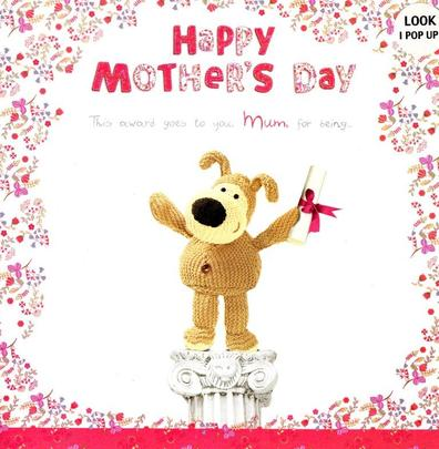 Boofle Pop Up Happy Mother's Day Card