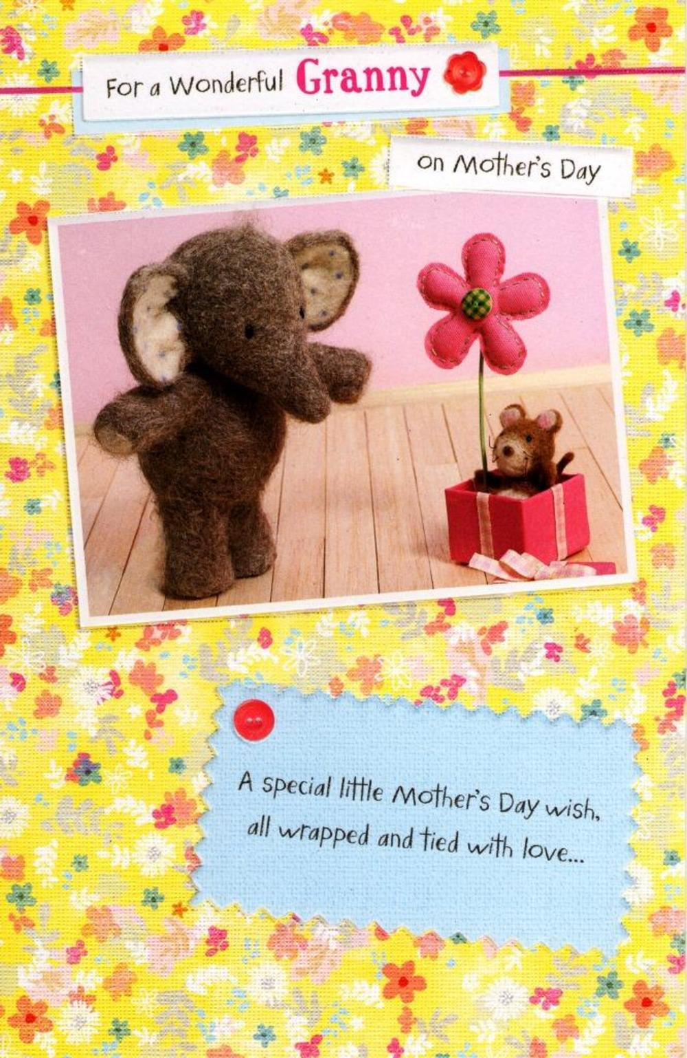 Elliot & Buttons Granny Mother's Day Card