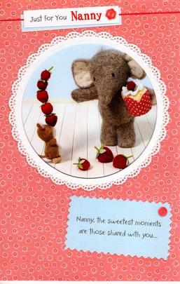 Elliot & Buttons Nanny Mother's Day Card