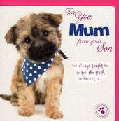 Best Mum From Son Happy Mother's Day Card