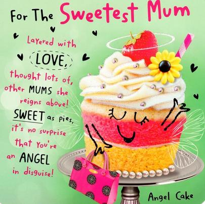 Sweetest Mum Happy Mother's Day Card