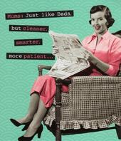 Funny Mum Retro Humour Happy Mother's Day Card