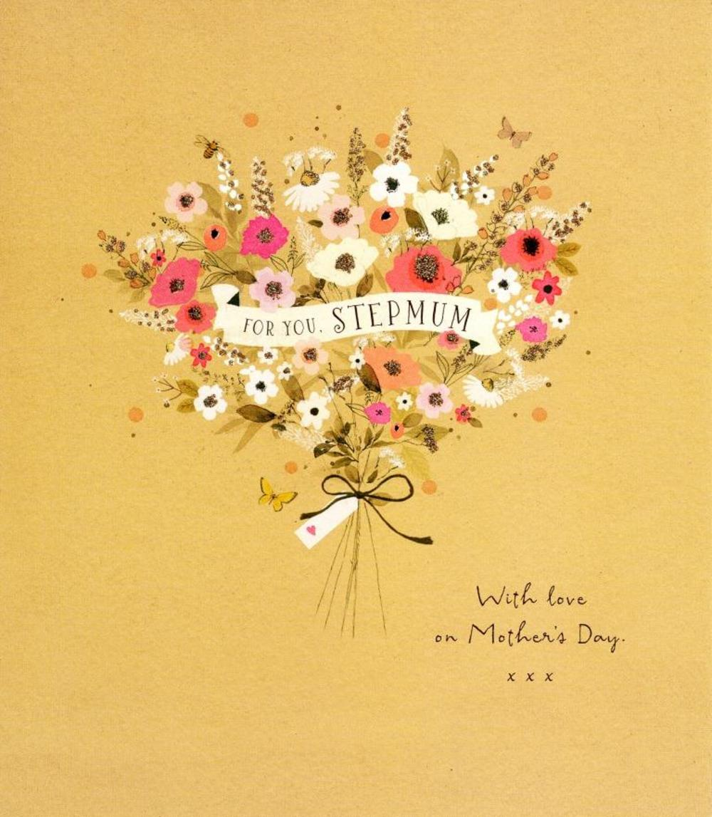For You Stepmum Happy Mother's Day Card