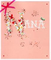 Beautiful Nanna Happy Mother's Day Card
