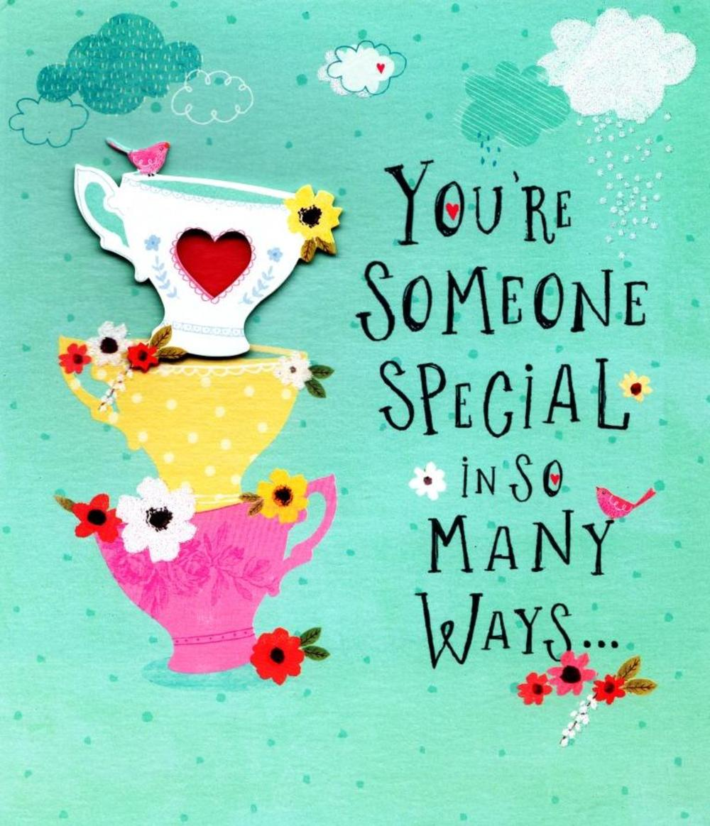 To someone special happy mothers day card cards love kates to someone special happy mothers day card kristyandbryce Choice Image