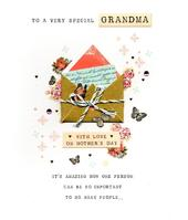 Very Special Grandma Happy Mother's Day Card