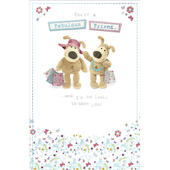 Boofle Fabulous Friend Happy Birthday Greeting Card