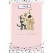 Boofle Forever Fiend Happy Birthday Greeting Card