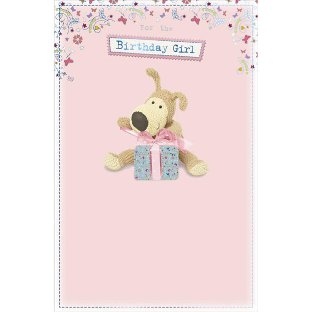 Boofle Birthday Girl Happy Birthday Greeting Card