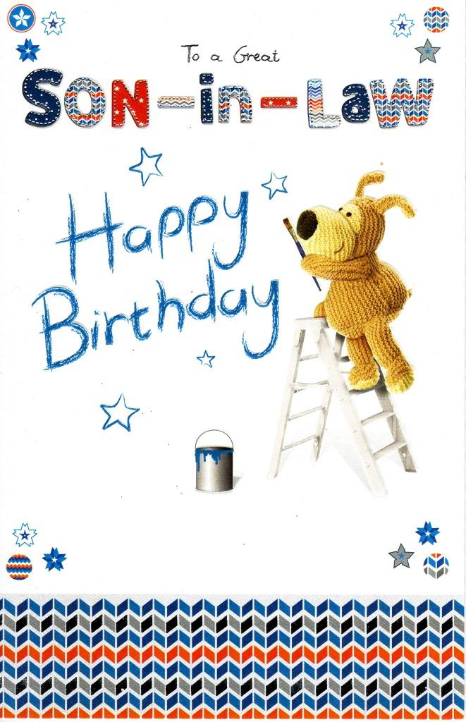 Boofle son in law happy birthday greeting card cute range greetings sentinel boofle son in law happy birthday greeting card cute range greetings cards m4hsunfo