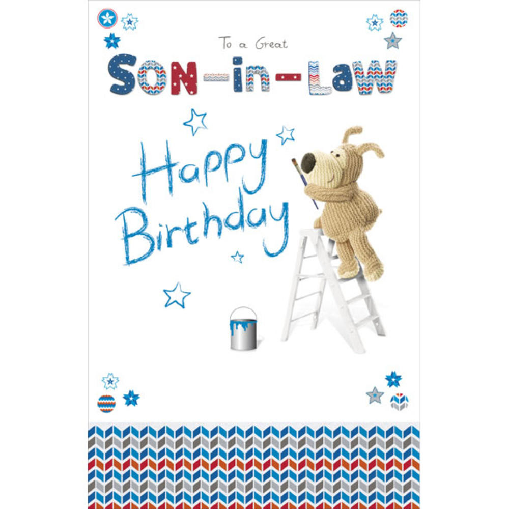 Boofle son in law happy birthday greeting card cards love kates boofle son in law happy birthday greeting card m4hsunfo