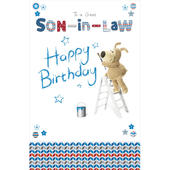 Boofle Son-In-Law Happy Birthday Greeting Card