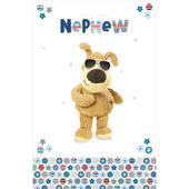 Boofle Nephew Happy Birthday Greeting Card