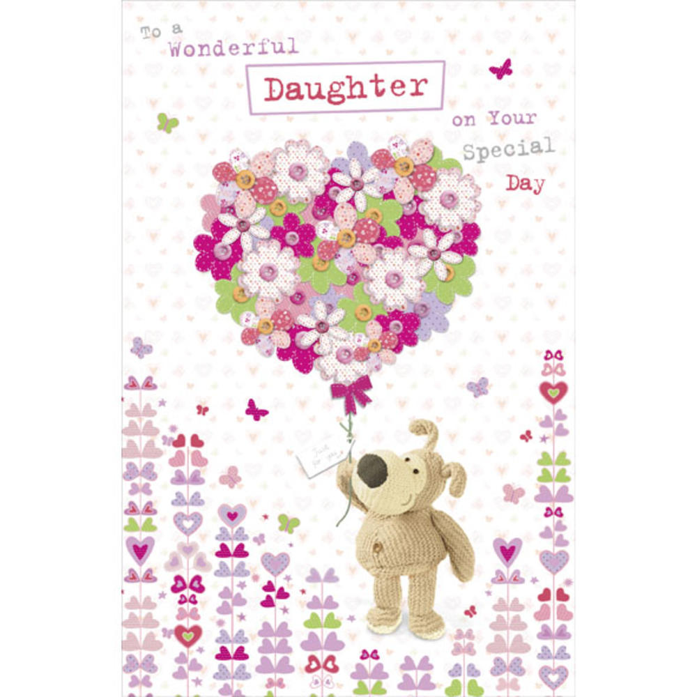 Boofle Daughter Happy Birthday Greeting Card Cards – Birthday Greeting Cards Daughter