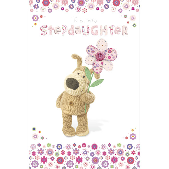 Boofle Stepdaughter Happy Birthday Greeting Card Cards Love Kates