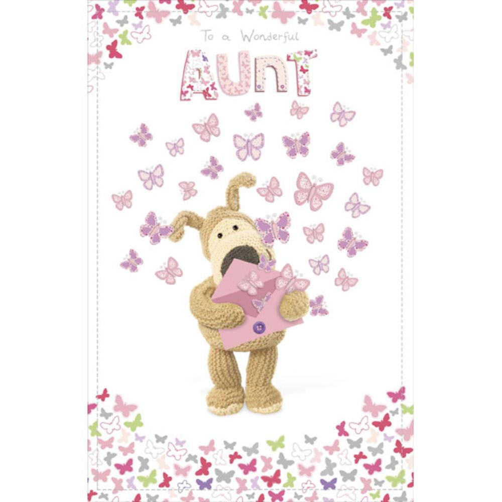 Boofle Aunt Happy Birthday Greeting Card