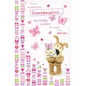 Boofle Granddaughter Happy Birthday Greeting Card