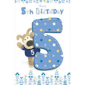 Boofle 5th Happy Birthday Greeting Card