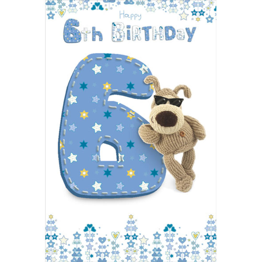 Boofle 6th Happy Birthday Greeting Card