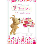 Boofle 7th Happy Birthday Greeting Card
